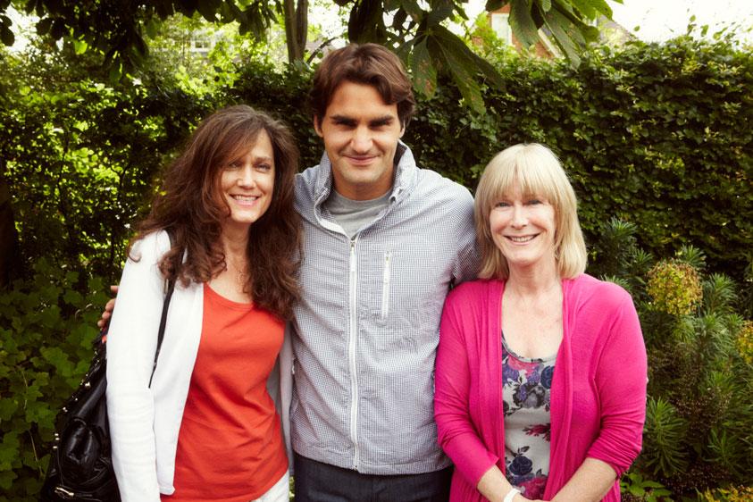 Catherine (R. Federer) Wimbledon 2012