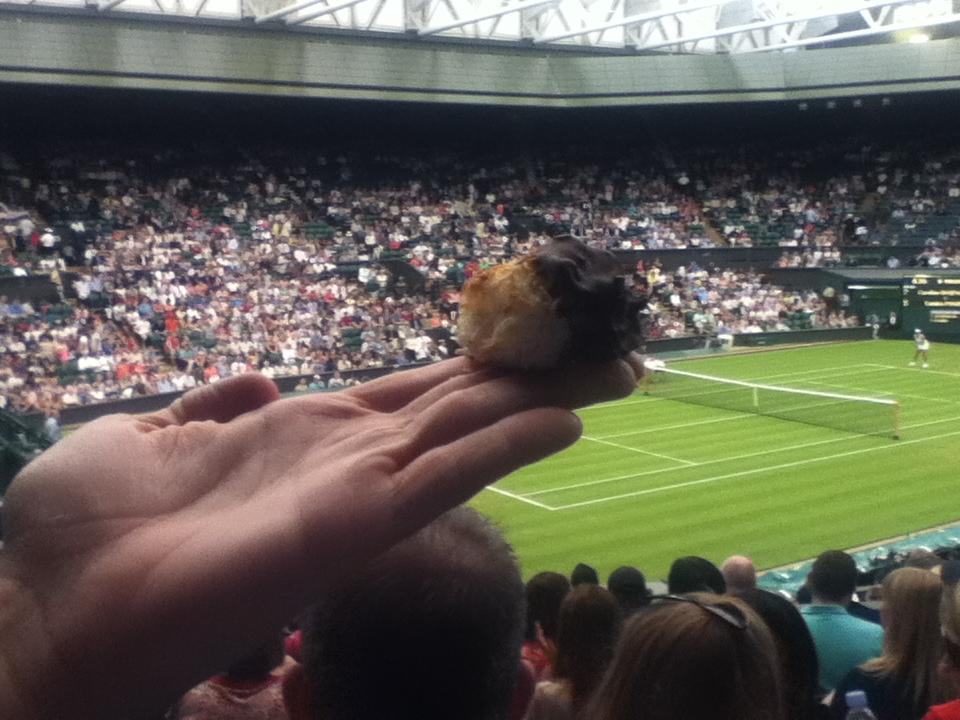 CG Macaroon: Centre Court at Wimbledon